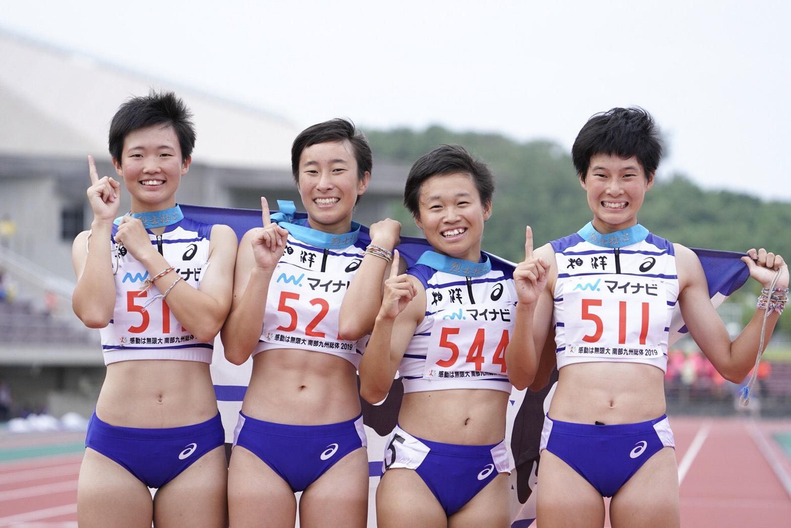 1600メートルリレーで連覇を達成した相洋【写真:荒川祐史】