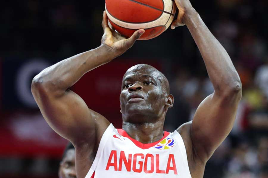 アンゴラ代表のレオネル・パウロ【写真:Getty Images】