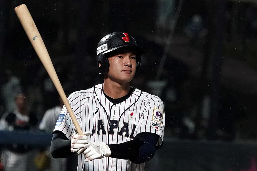 野球日本代表・石川昂弥【写真:Getty Images】