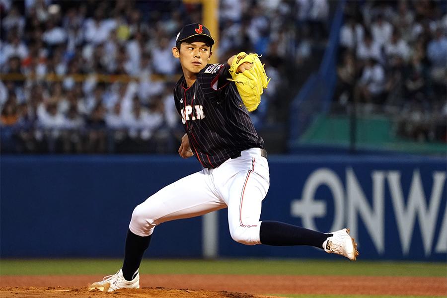 野球日本代表「侍ジャパン」の佐々木朗希【写真:Getty Images】