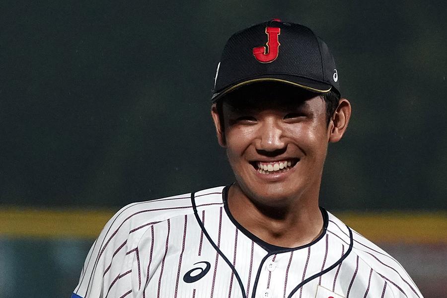 野球日本代表「侍ジャパン」の奥川恭伸【写真:Getty Images】