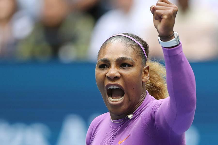 セリーナ・ウィリアムズは全米オープン2年連続の準優勝【写真:Getty Images】