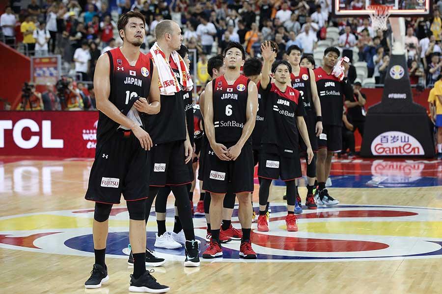 バスケットボールのワールドカップに出場した日本代表【写真:Getty Images】