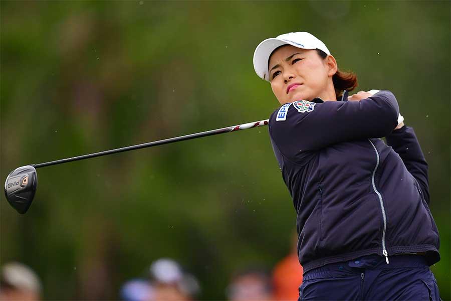 日本女子ゴルフ界を牽引してきた横峯さくら【写真:Getty Images】
