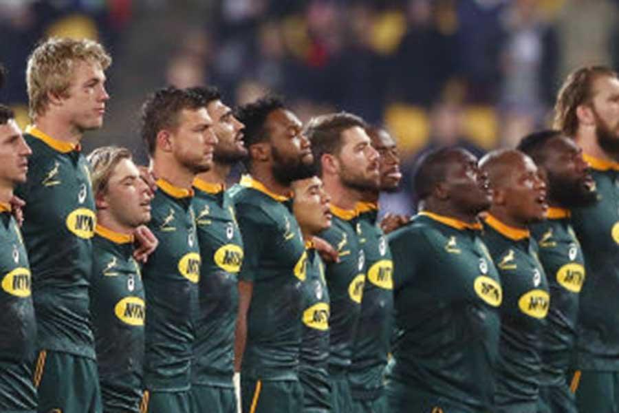 世界ランク4位の南アフリカ代表「スプリングボクス」【写真:Getty Images】