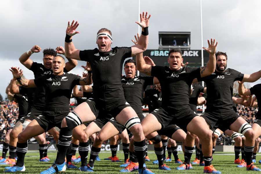 ニュージーランド代表「オールブラックス」【写真:Getty Images】