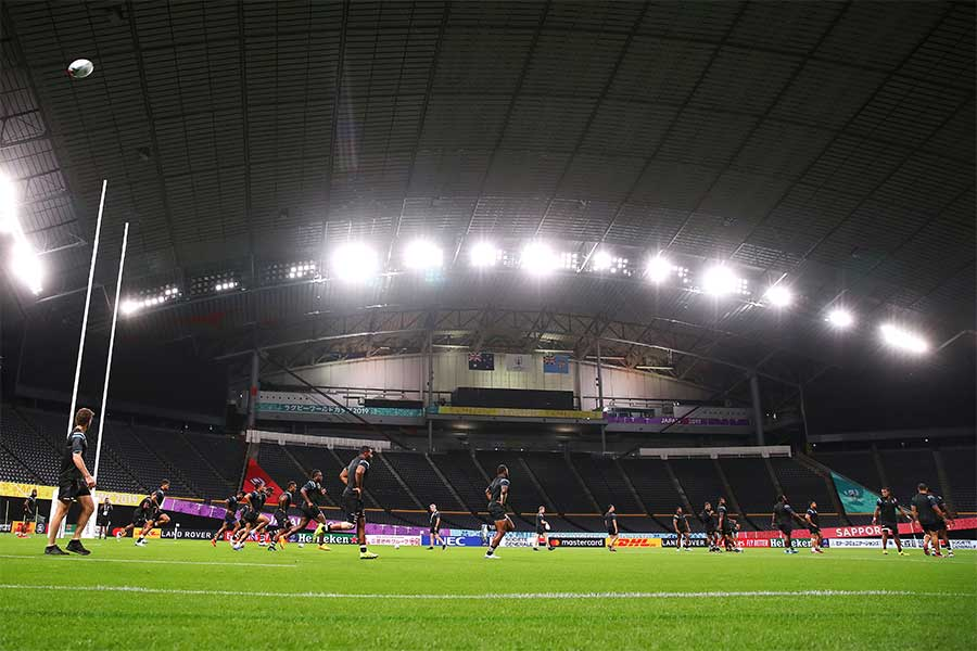 ラグビーのワールドカップの会場となっている札幌ドーム【写真:Getty Images】