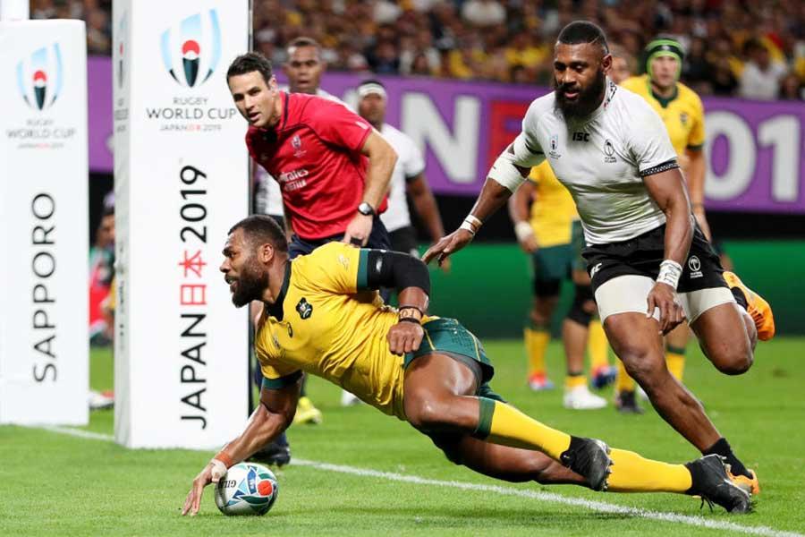 オーストラリアが後半4連続トライで逆転勝ち【写真:Getty Images】
