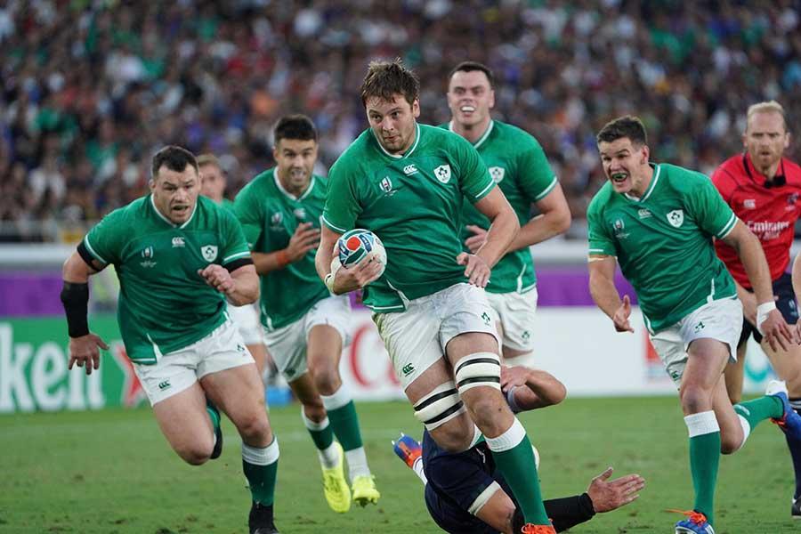アイルランドがスコットランドをリードして前半を折り返した【写真:荒川祐史】
