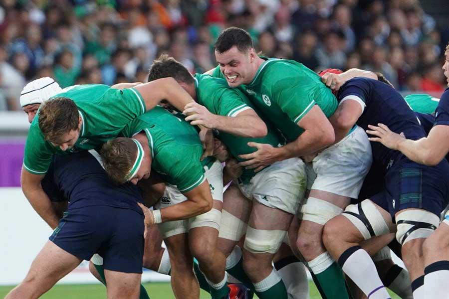 アイルランドがスコットランドを相手に圧勝【写真:荒川祐史】