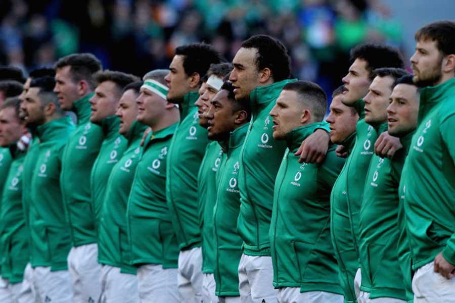世界ランキング1位のアイルランド代表【写真:Getty Images】