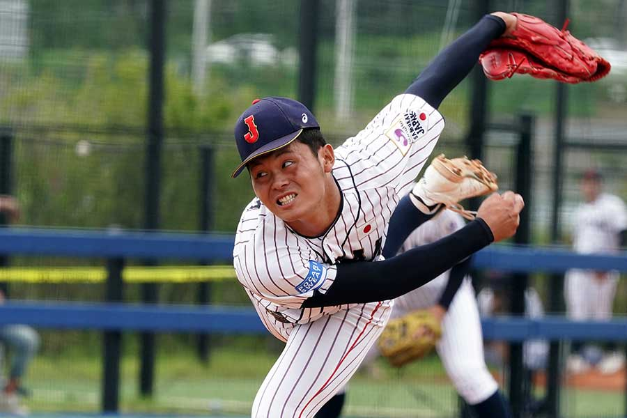 U-18侍ジャパン代表としてワールドカップに出場した浅田将汰【写真:Getty Images】