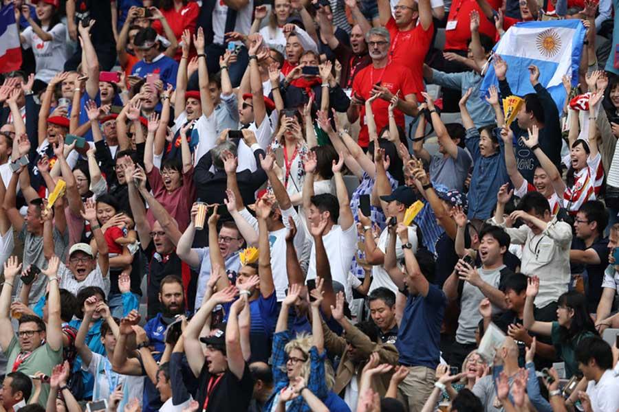 ニュージーランドメディアでも日本のファンを称賛【写真:Getty Images】