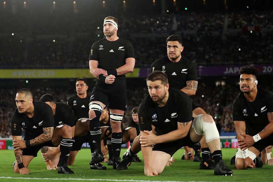 史上初の大会3連覇を目指すニュージーランド代表・オールブラックス【写真:Getty Images】