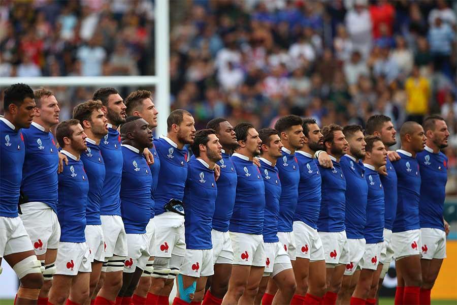 ラグビーのフランス代表【写真:Getty Images】