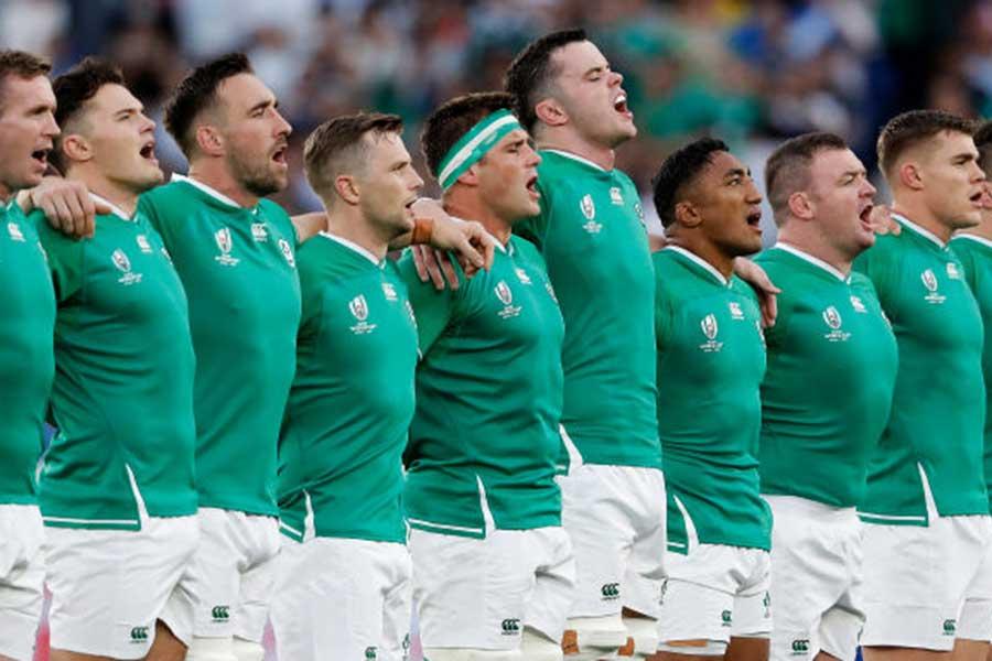 日本が28日に対戦する世界ランク2位のアイルランド【写真:Getty Images】