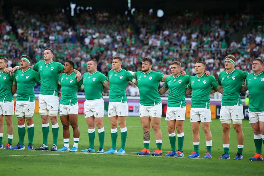 アイルランド共和国とイギリス領北アイルランドが一体となったアイルランド代表【写真:Getty Images】