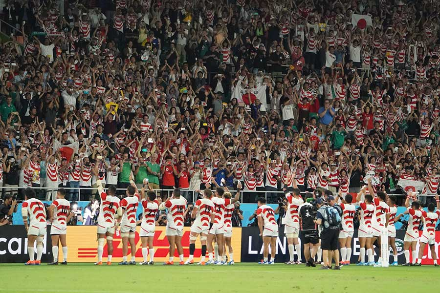 日本が優勝候補のアイルランドに歴史的勝利【写真:荒川祐史】