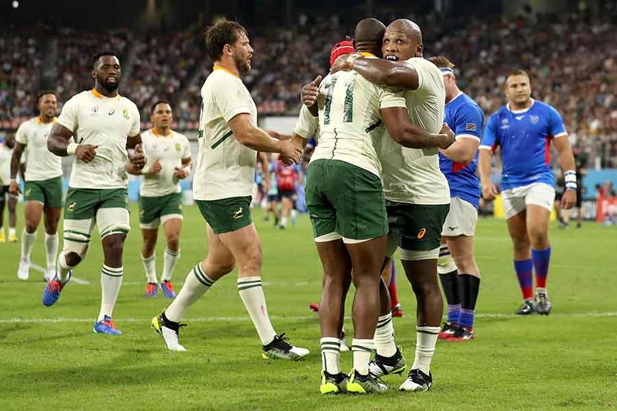 南アフリカがナミビアに大勝【写真:Getty Images】