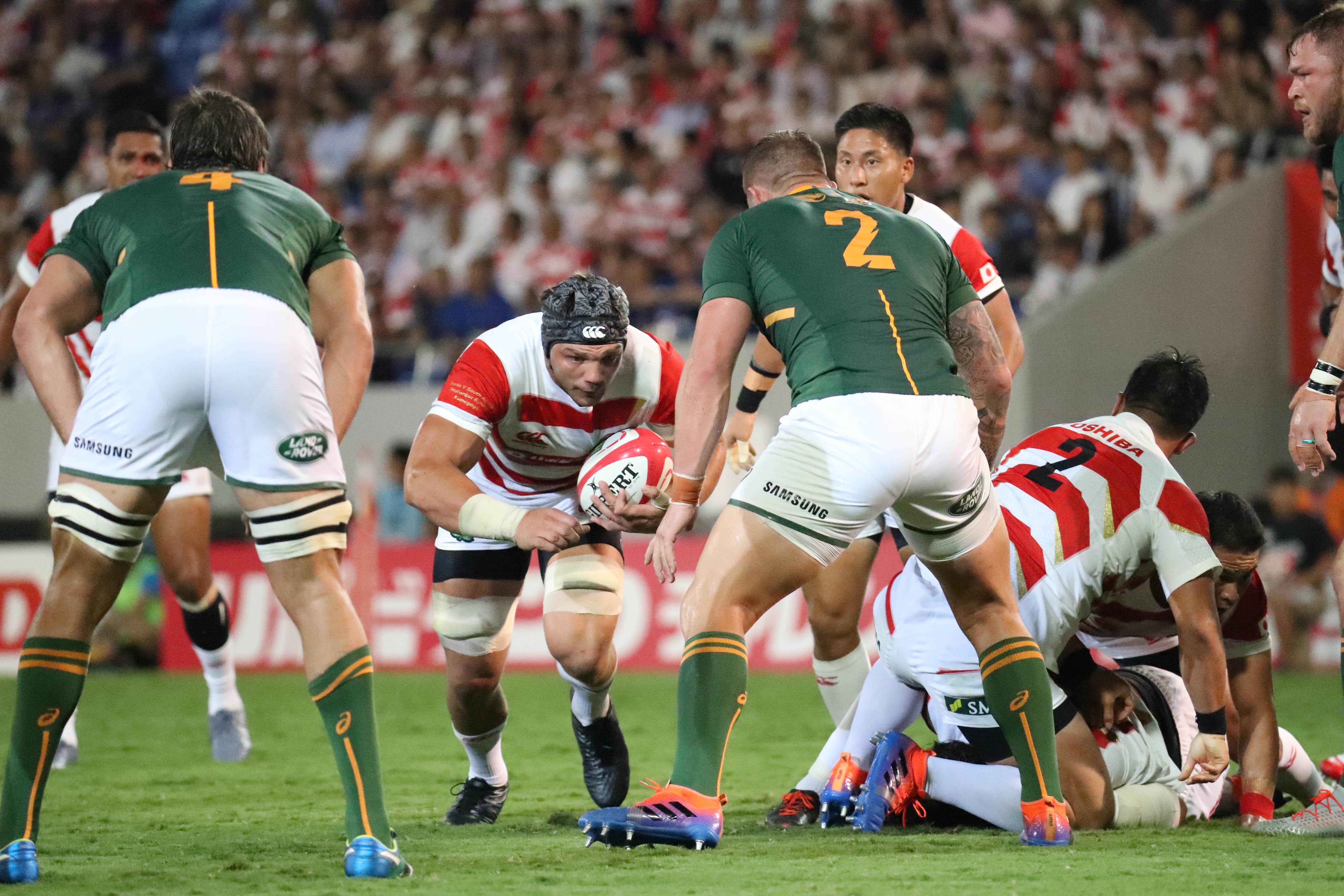 南アフリカは日本に大勝した【写真:石倉愛子】