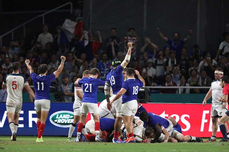 フランスは米国を下し、勝ち点5を獲得した【写真:荒川祐史】