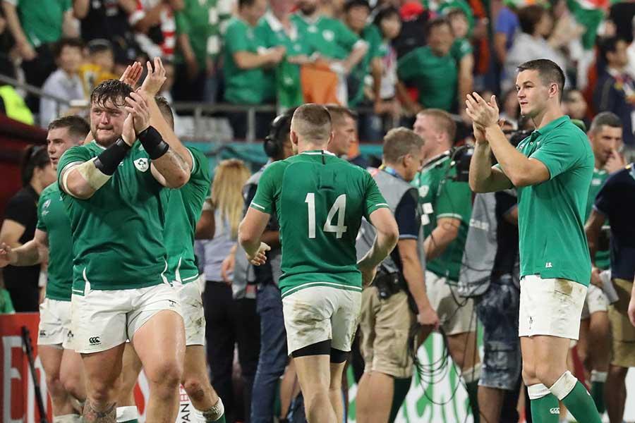 アイルランドはロシアに勝利し暫定首位に浮上【写真:石倉愛子】