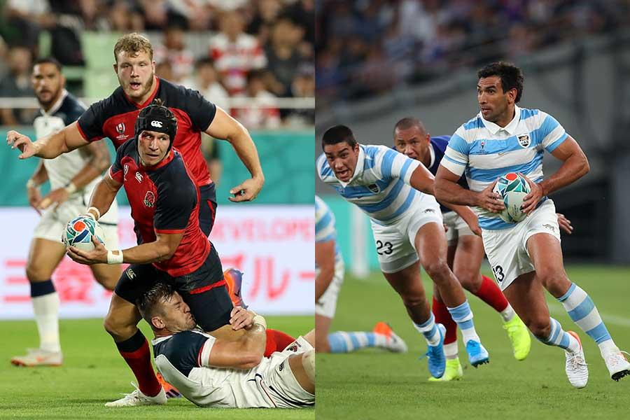 東京スタジアムでイングランド(左)とアルゼンチンが激突する【写真:Getty Images】