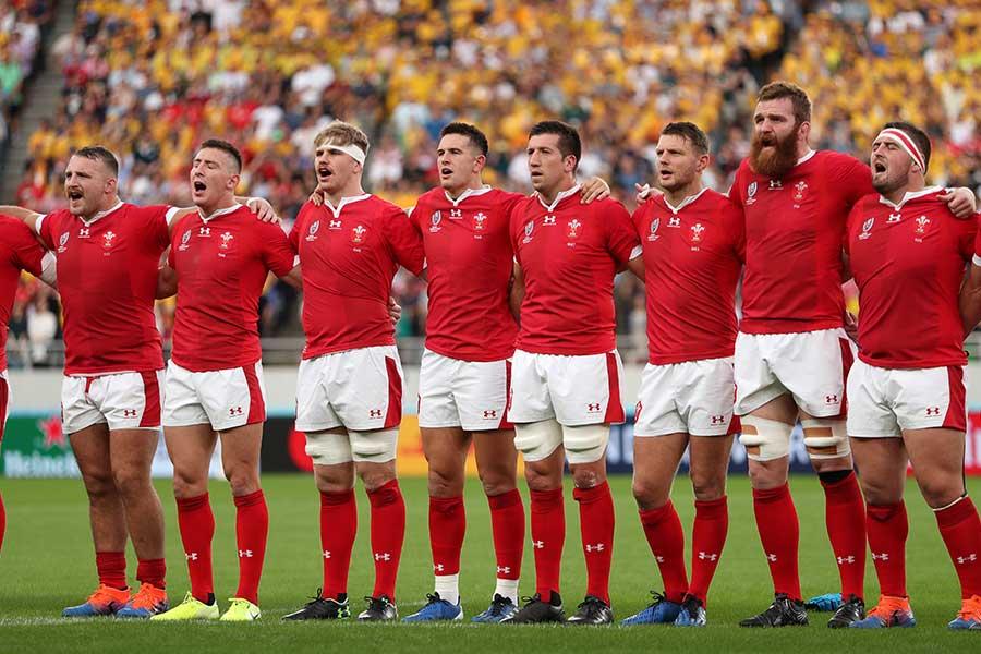ラグビーのウェールズ代表【写真:Getty Images】