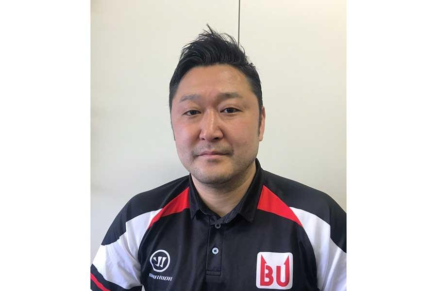 かつてアイスホッケー日本代表を率い、現在は東洋大の監督を務める鈴木貴人さん