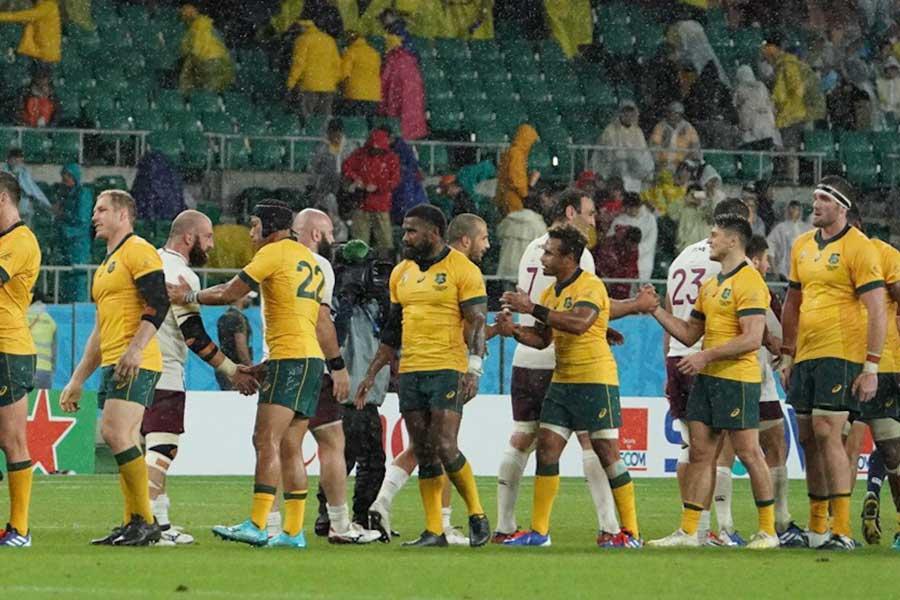 オーストラリアがジョージアに勝利【写真:荒川祐史】