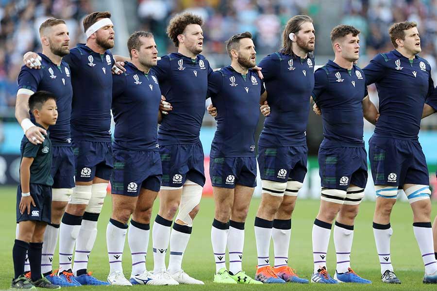 日本対スコットランドは13日朝に開催判断される【写真:Getty Images】
