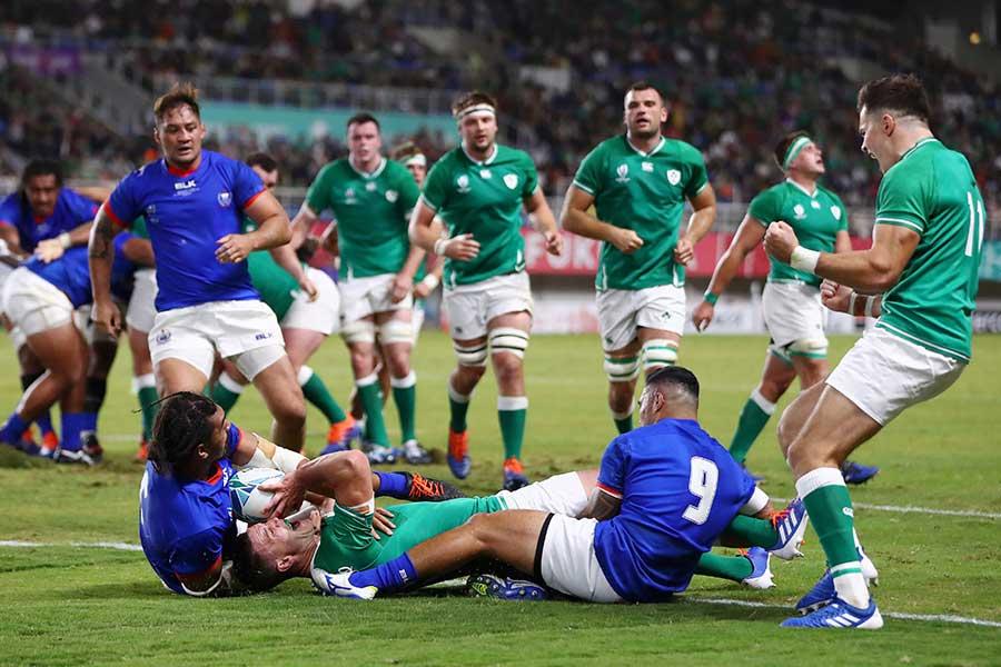アイルランドがサモアに勝利【写真:Getty Images】