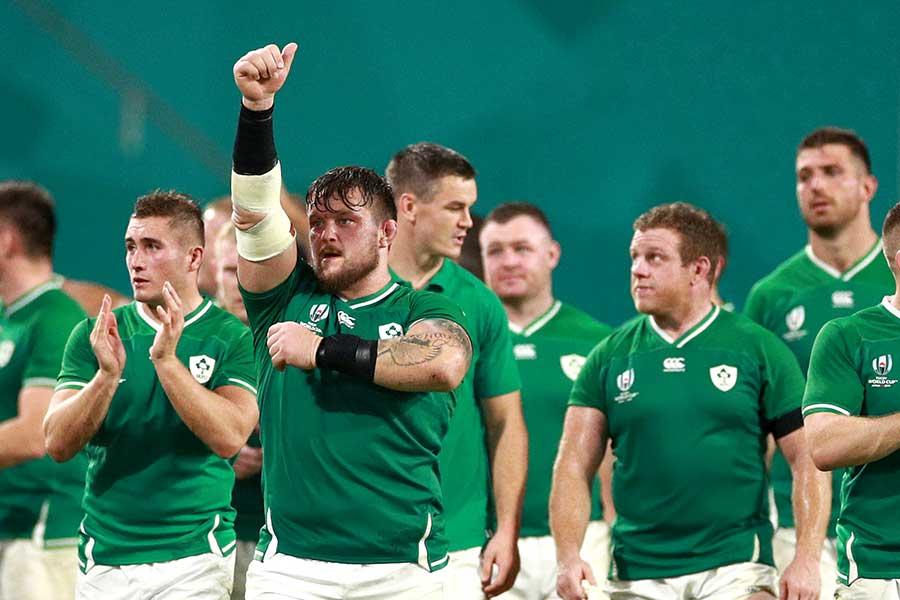 アイルランドのラグビー代表【写真:Getty Images】