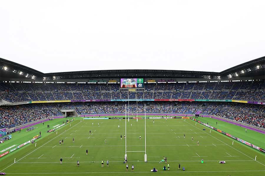 11月2日にラグビーW杯決勝戦が行われる横浜国際総合競技場【写真:Getty Images】