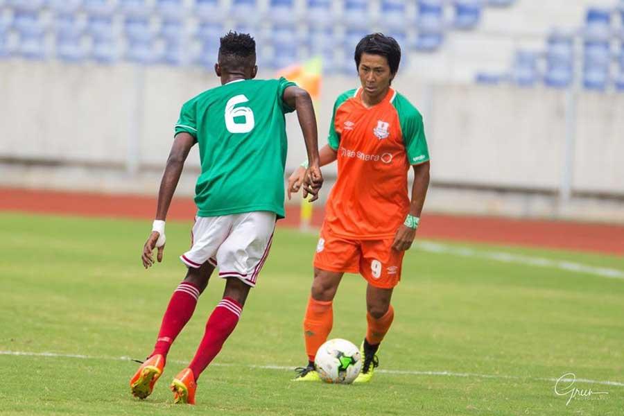 ザンビアのZESCOユナイテッドFCに移籍した中町公祐【写真:本人提供】