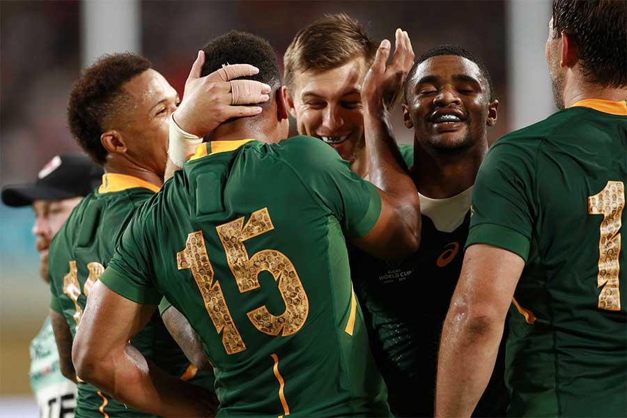 ラグビーの南アフリカ代表【写真:Getty Images】