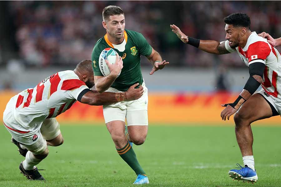 ラグビー・南アフリカ代表のウィリー・ルルー【写真:Getty Images】
