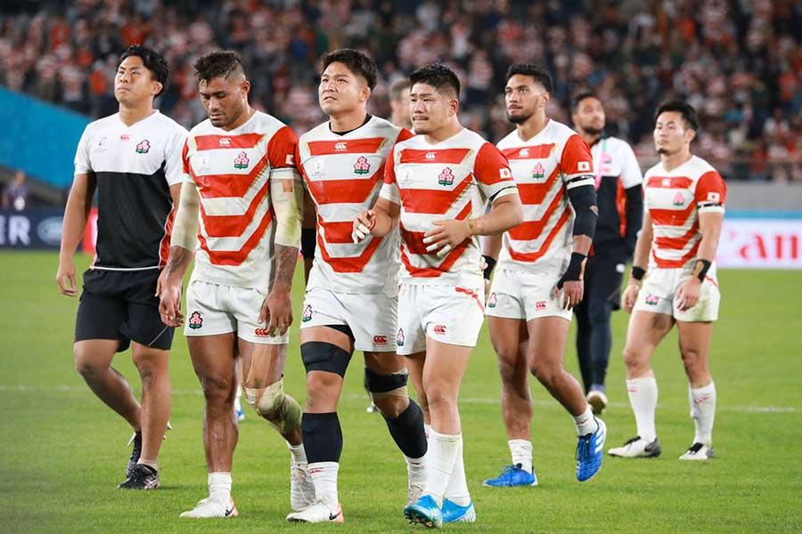 準々決勝で敗れた日本、2023年フランス大会への戦いはもう始まっている【写真:荒川祐史】