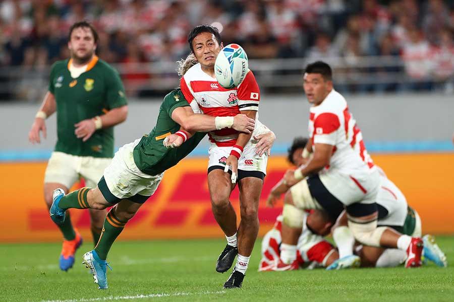 海外メディアでは流と南アフリカ選手の比較が繰り広げられた【写真:Getty Images】