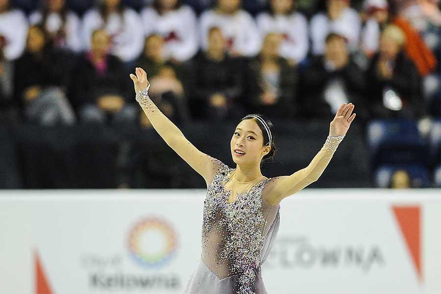 鮮烈デビューを飾ったユ・ヨン【写真:Getty Images】