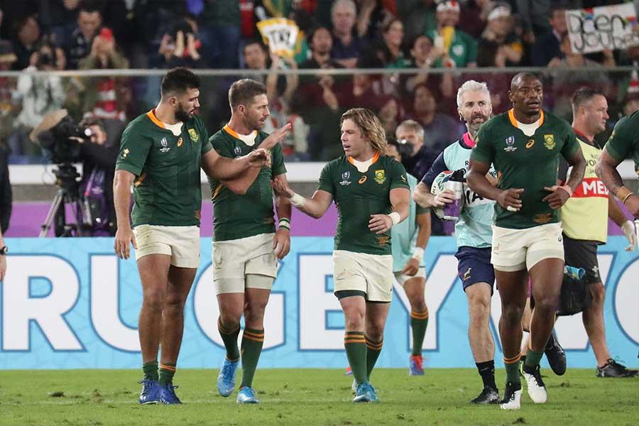 ウェールズを退けた南アフリカは決勝でイングランドと激突【写真:石倉愛子】