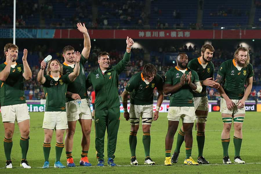 南アフリカは相手陣内へ入り込むことを意識していたことが勝利につながった【写真:石倉愛子】