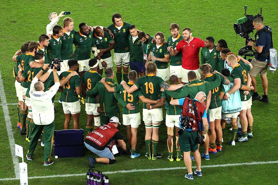 決勝進出を決めたラグビー・南アフリカ代表【写真:Getty Images】