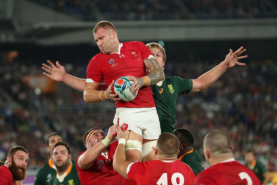 準決勝で南アフリカに敗れたウェールズ【写真:Getty Images】
