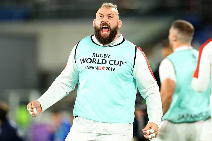 ラグビーイングランド代表のジョー・マーラー【写真:Getty Images】