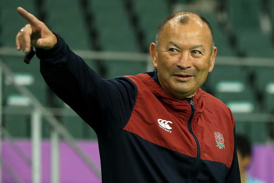 イングランドのエディー・ジョーンズヘッドコーチ【写真:Getty Images】