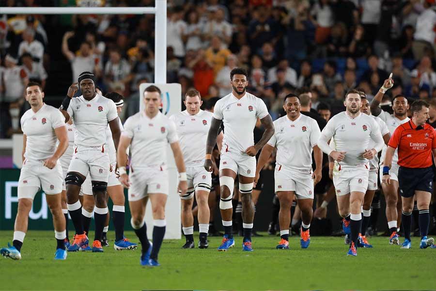 イングランドは決勝で南アフリカと激突する【写真:荒川祐史】