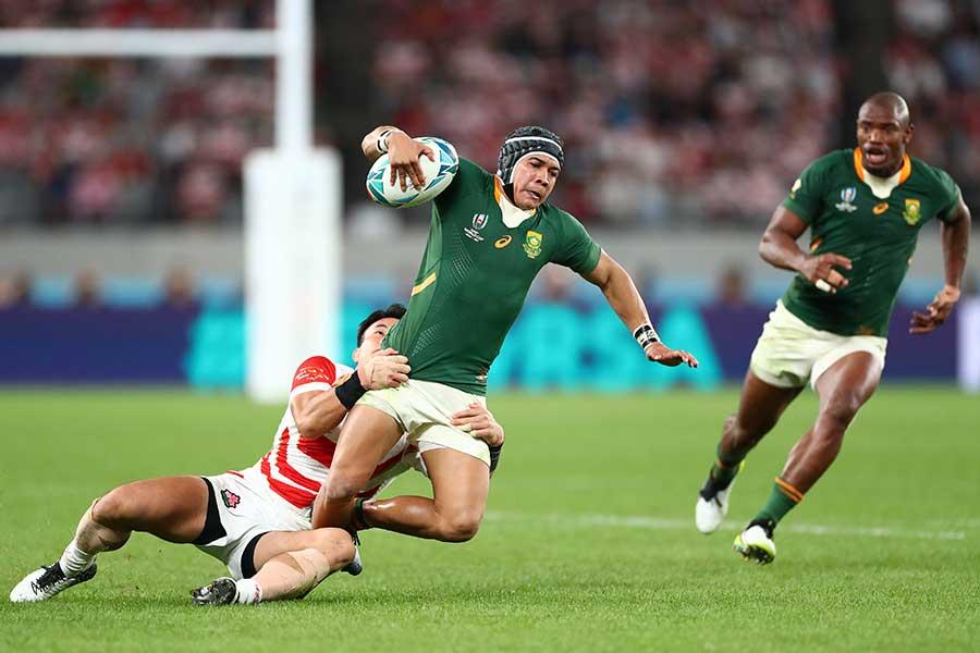 ラグビー南アフリカ代表のチェスリン・コルビ【写真:Getty Images】