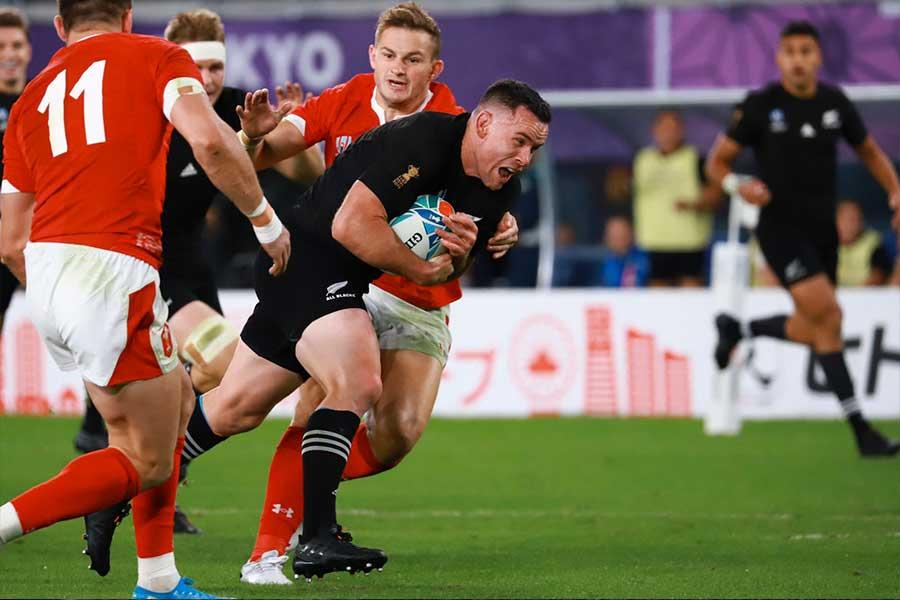 ニュージーランドがウェールズに勝利し3位に【写真:荒川祐史】