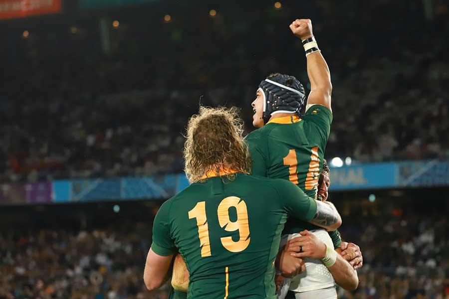 優勝した南アフリカが世界ランク1位に浮上【写真:荒川祐史】